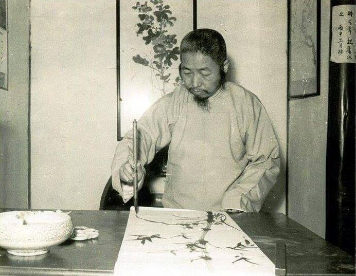 Cheng Man Ching as a painter